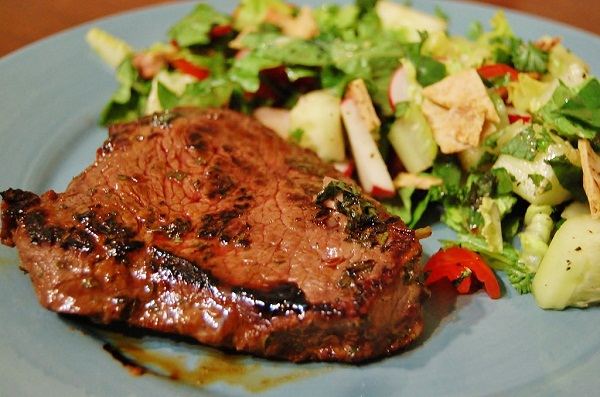 Pomegranate Mint Steak Recipe