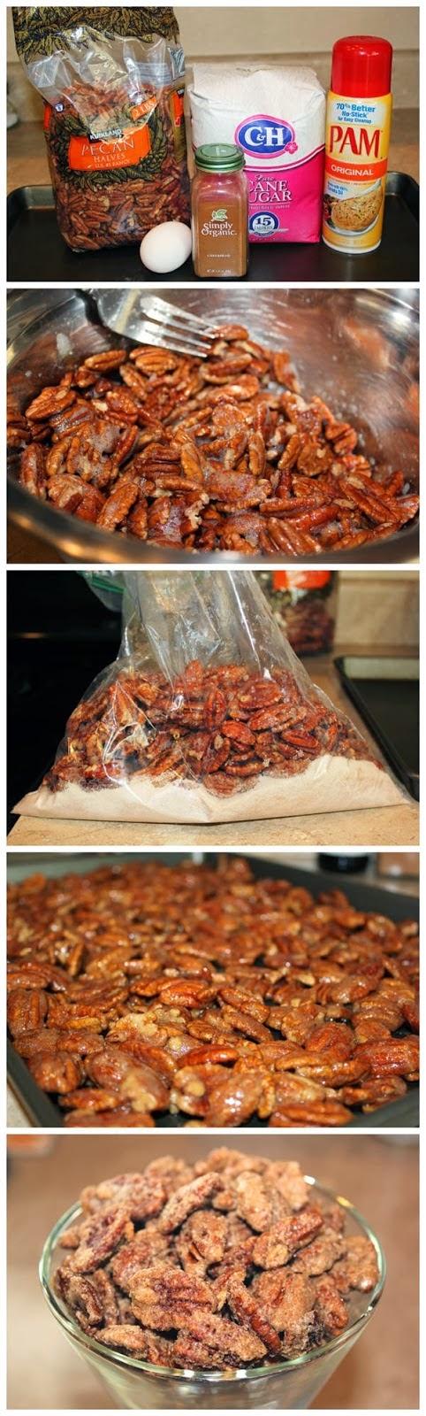 Cinnamon Sugar Pecans Recipe