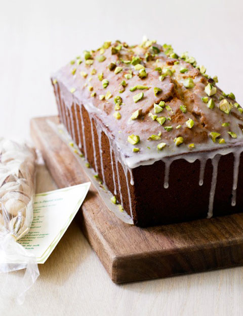 Pistachio Pound Cake Recipe